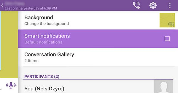 Viber Tips and Tricks: Quickly Switch Between Conversations
